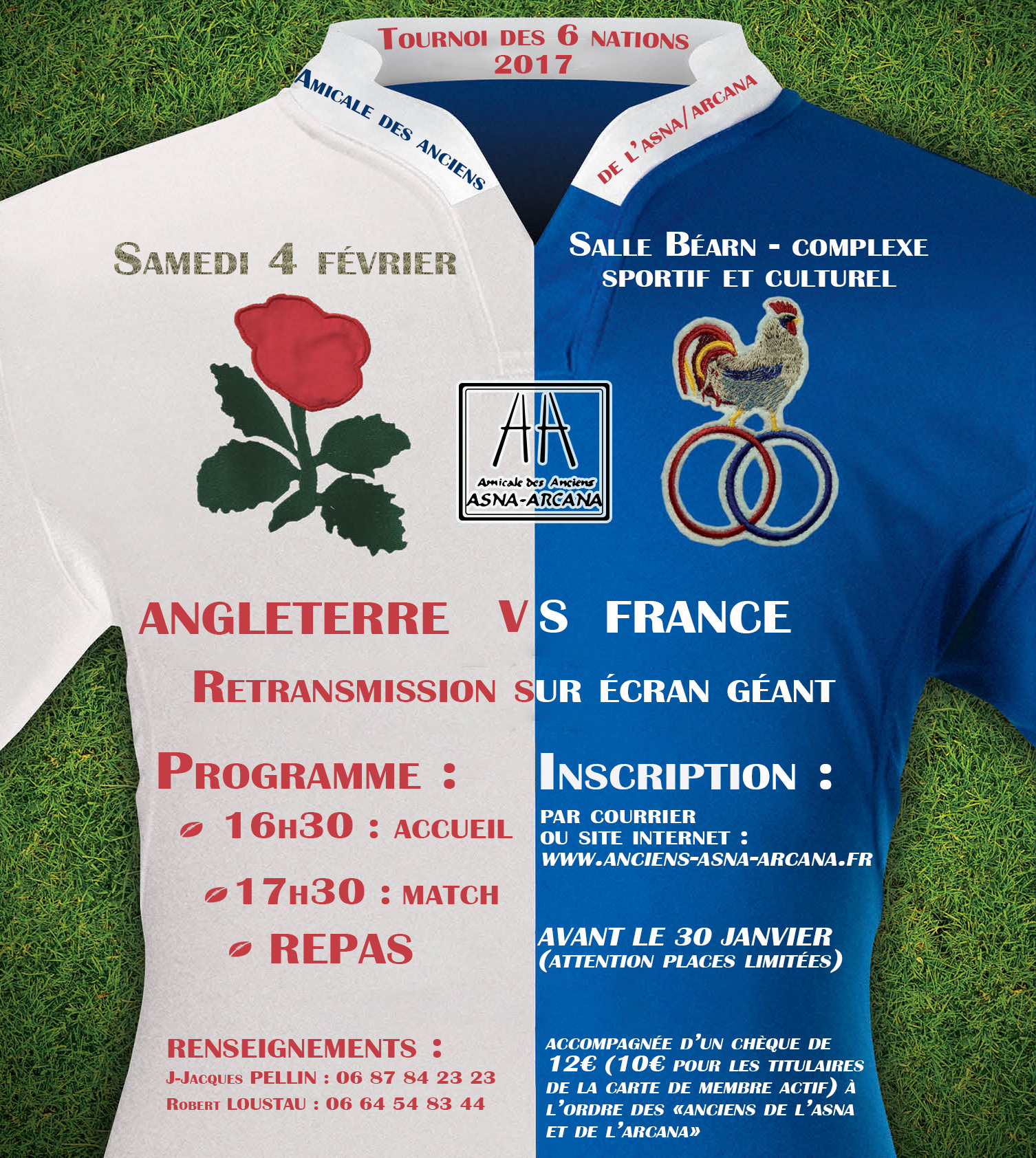 Affiche Angleterre France 2017